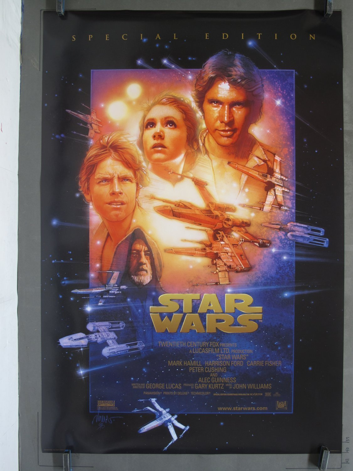 Original star wars movie posters for sale