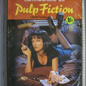 PULP FICTION (1994) Lucky Strikes Original Movie Poster