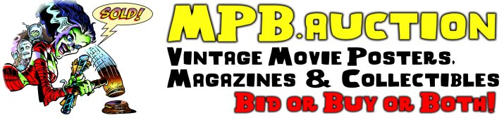 MPB.auction - Vintage Movie Posters - Bid or Buy