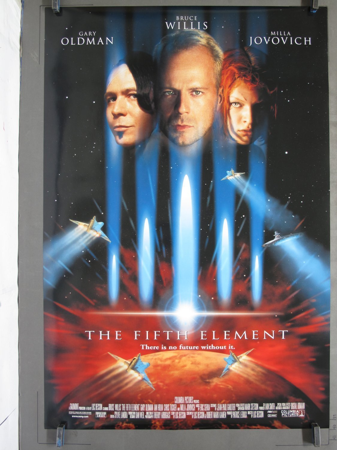 Fifth Element 1997 Ds One Sheet Poster For Sale