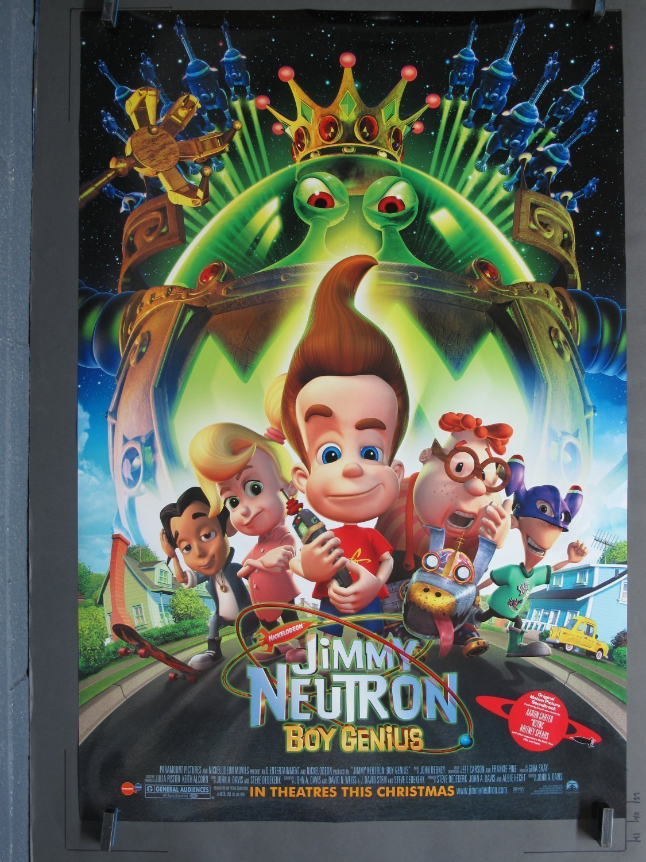 JIMMY NEUTRON BOY GENIUS 2001 DS Advance One-Sheet poster For Sale