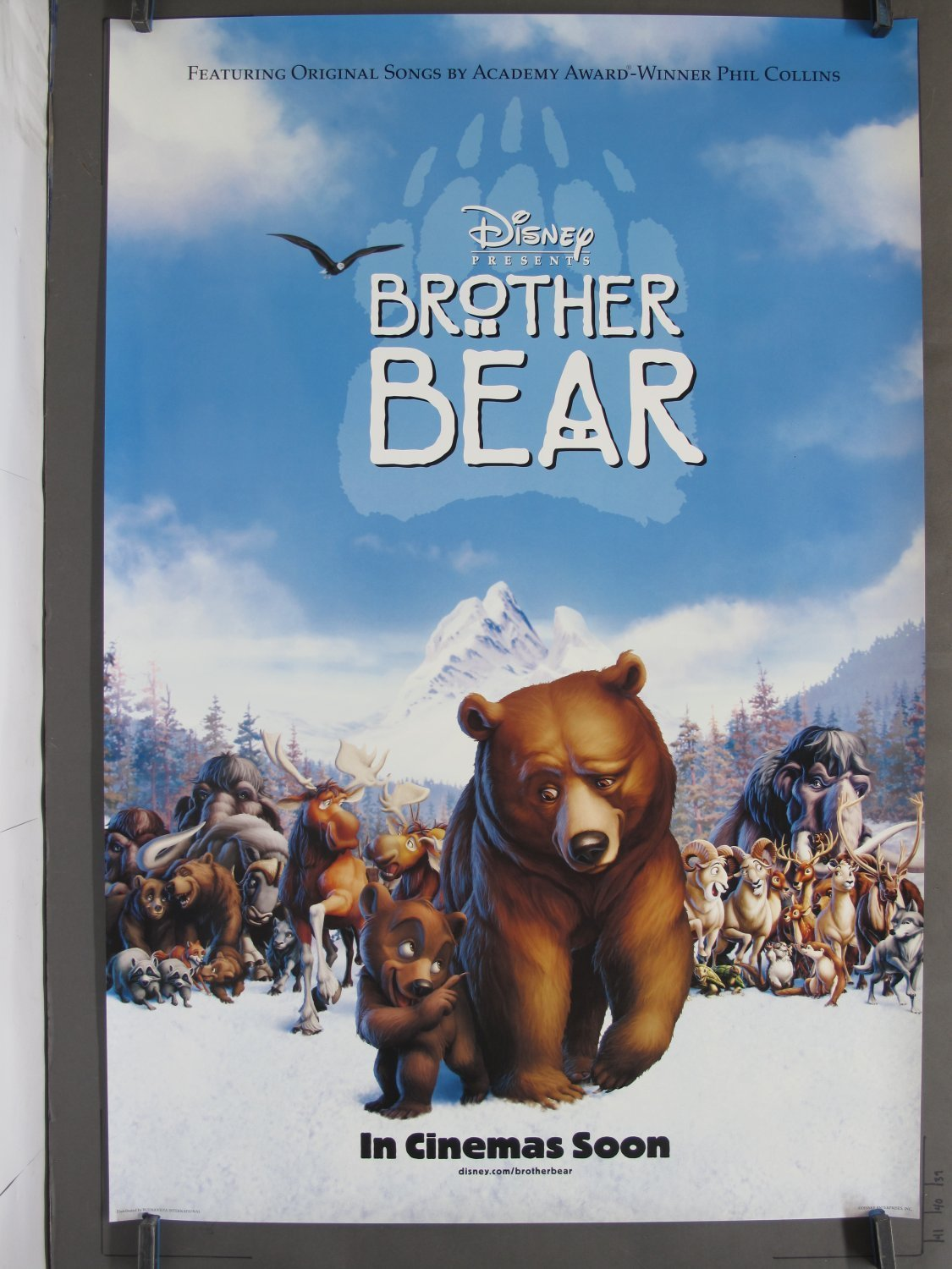 Brother Bear 2003 Ds Teaser One Sheet Poster For Sale