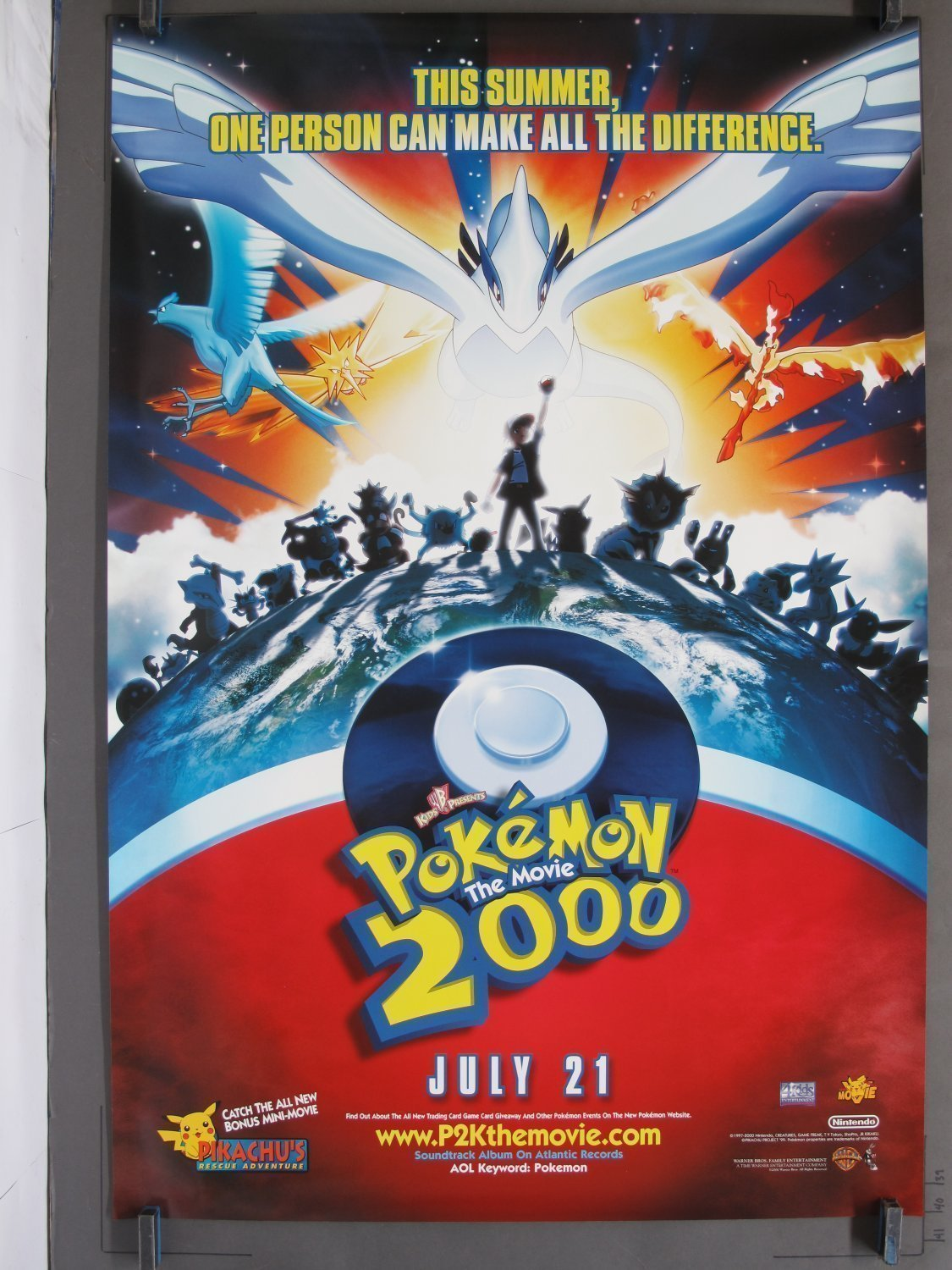 Pokeman The Power Of One Aka Pokemon The Movie 2000 Ds Teaser One