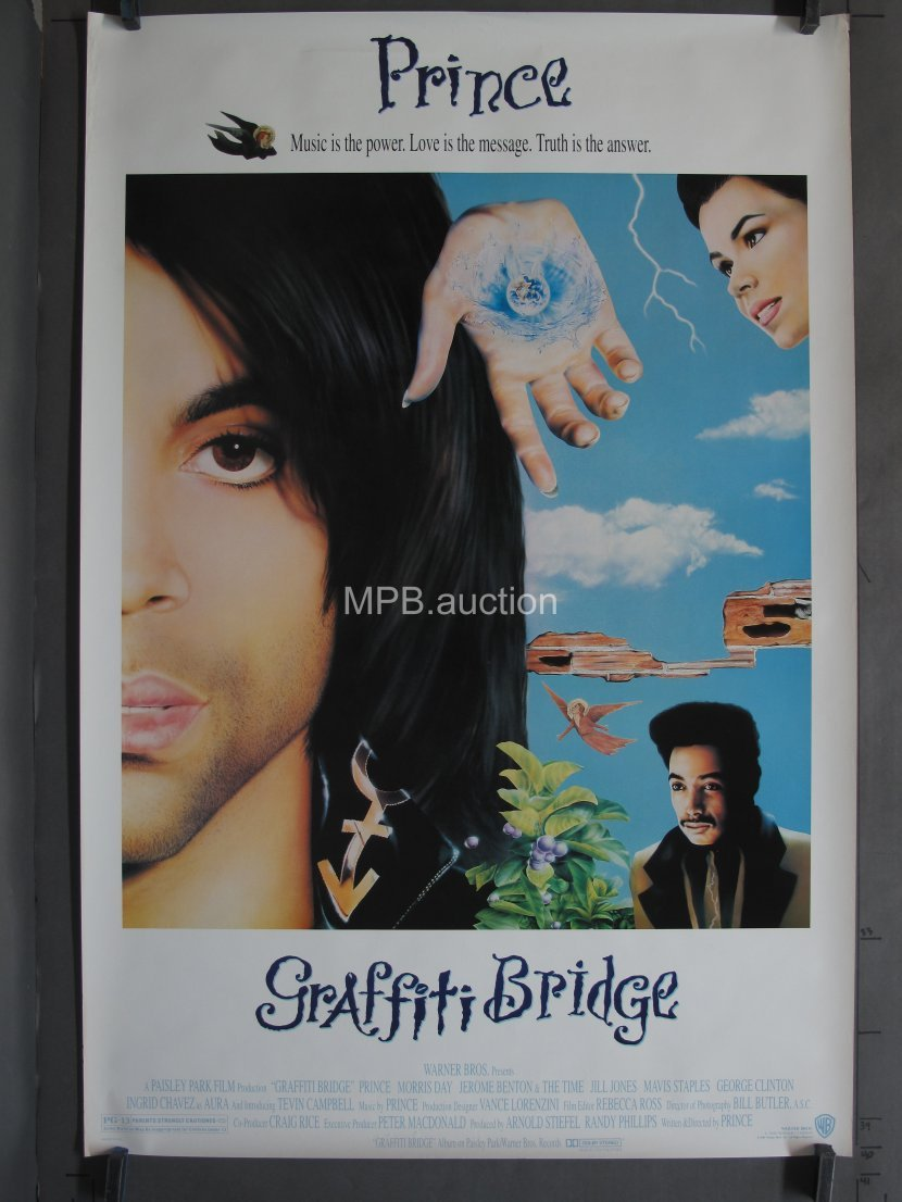 GRAFFITI BRIDGE 1990 SS One-Sheet