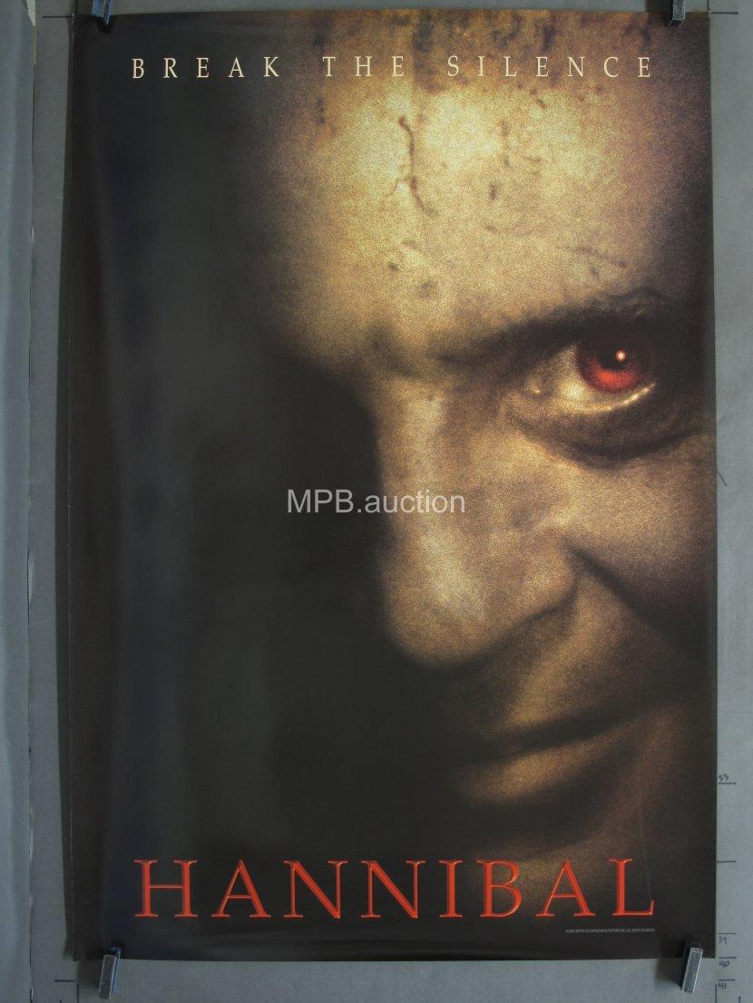 Hannibal 2001 Ds Teaser One Sheet For Sale