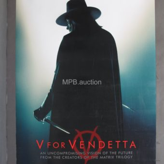 V For Vendetta (2005) Original Movie Poster DS Teaser