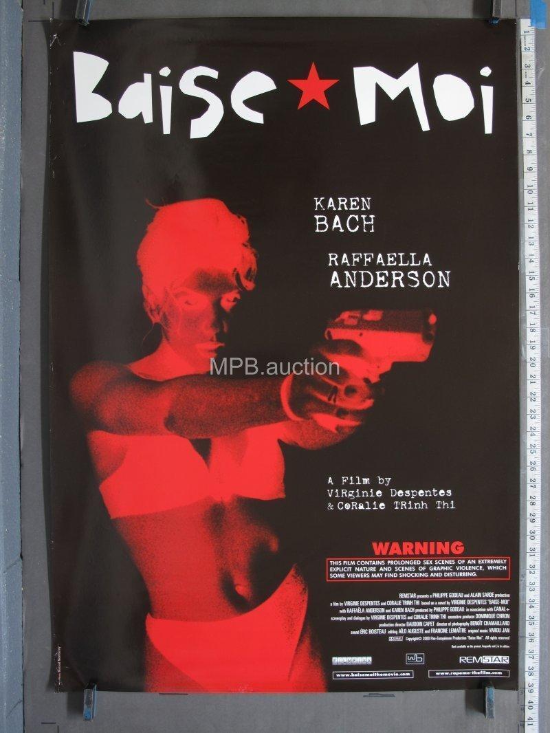 Baise Moi Explicit baise moi aka rape me 2000 ss rolled one sheet