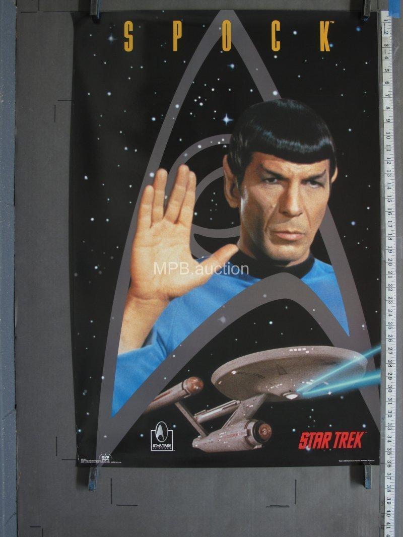 "Leonard Nimoy Mr Spock Poster Star Trek Movie B/&W Art Print 24/""×36/""//60×90cm Free"