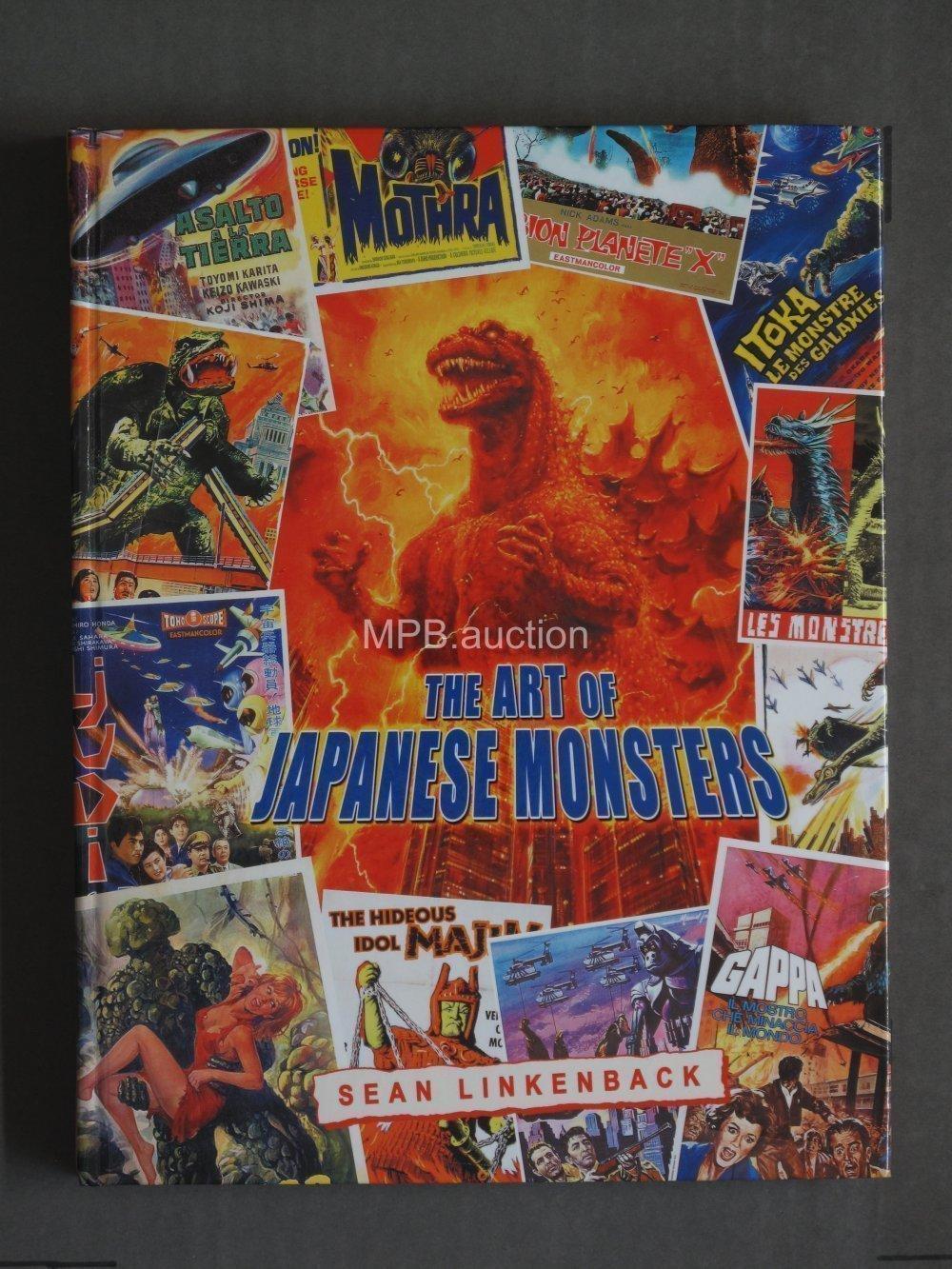 ART OF JAPANESE MONSTERS by SEAN LINKENBACK (2014) Hardcover Book