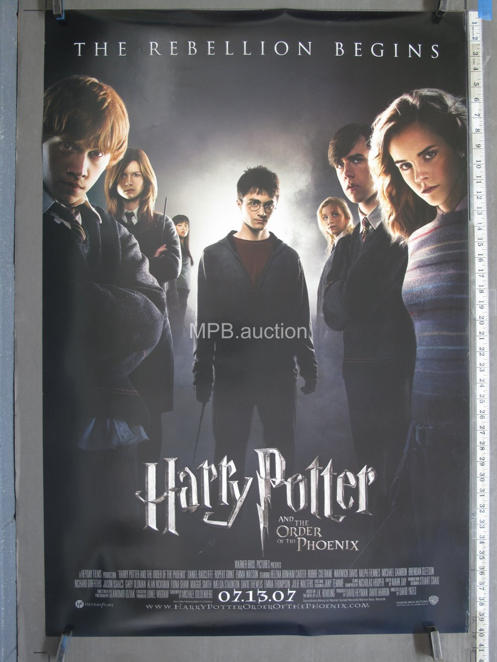 Harry Potter And The Order Of The Phoenix 2007 Original Ds Advance Movie Poster For Sale