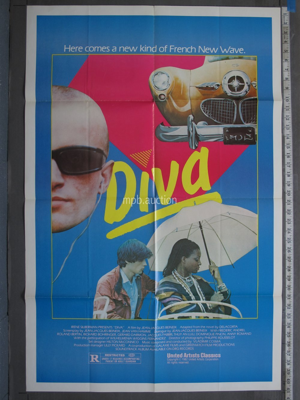 Diva 1981 Original Movie Poster For Sale