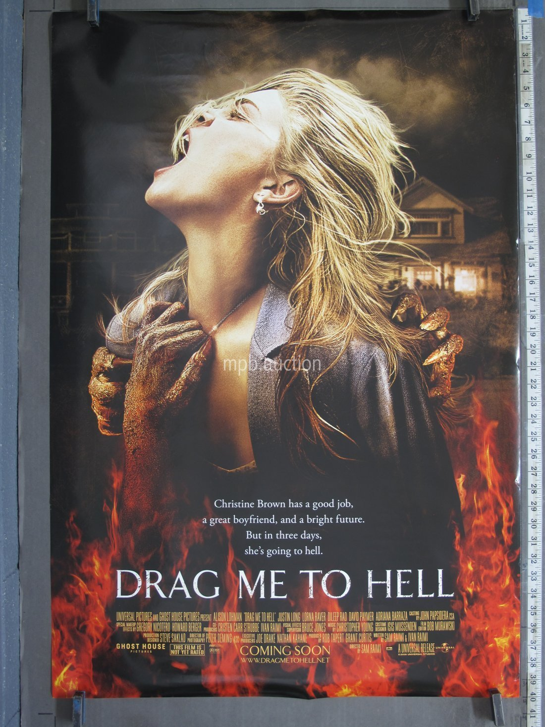 Drag Me To Hell 2009 Original Ds Advance Movie Poster