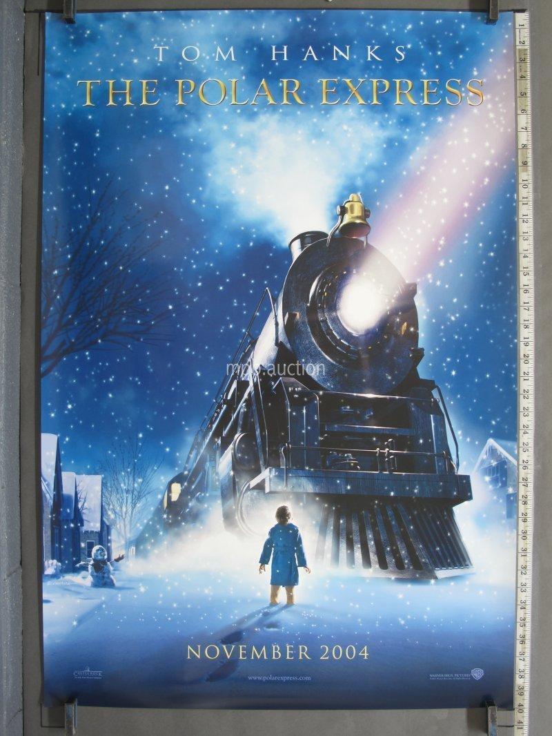 Polar Express 2004 Original Ds Teaser Movie Poster For Sale